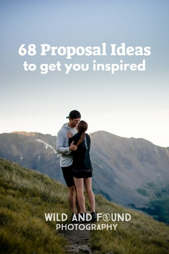 Cover for 68 Proposal ideas to get you inspired