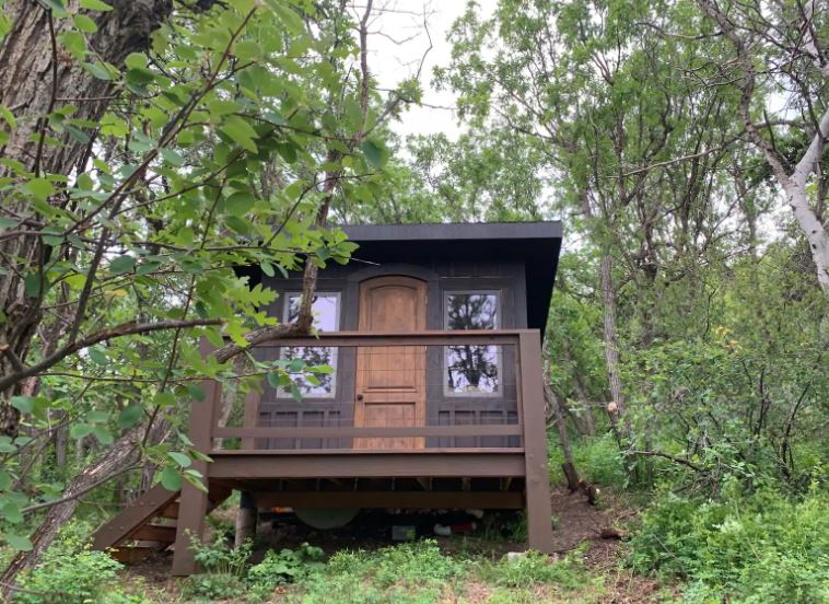 Small cabin in the woods for rent in Aspen Colorado