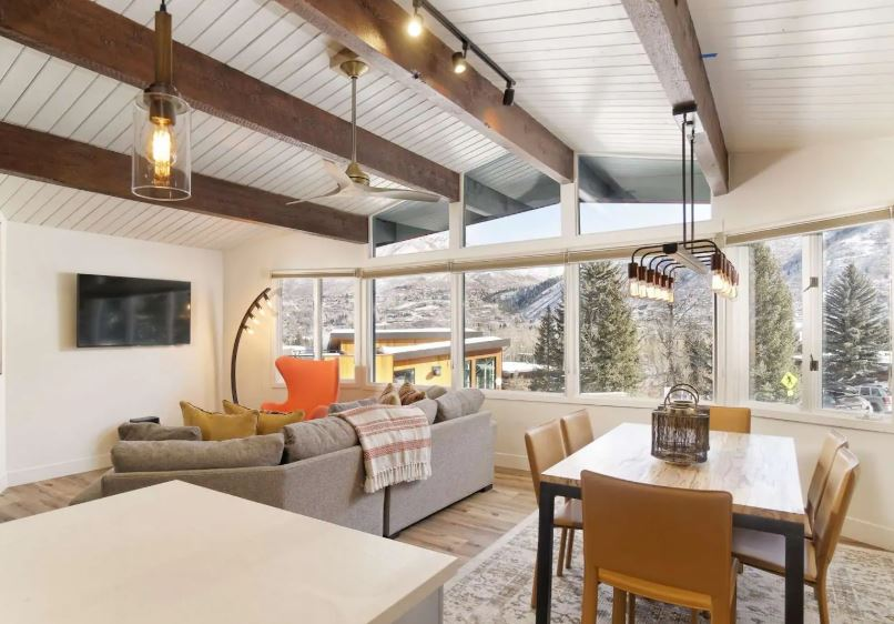 Modern Airbnb in the mountains of Snowmass Village Colorado