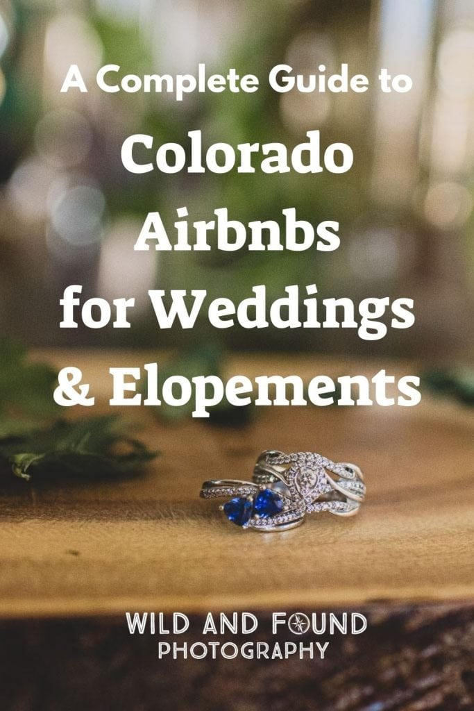 A complete guide to Airbnb Weddings and Airbnb Elopements in Colorado