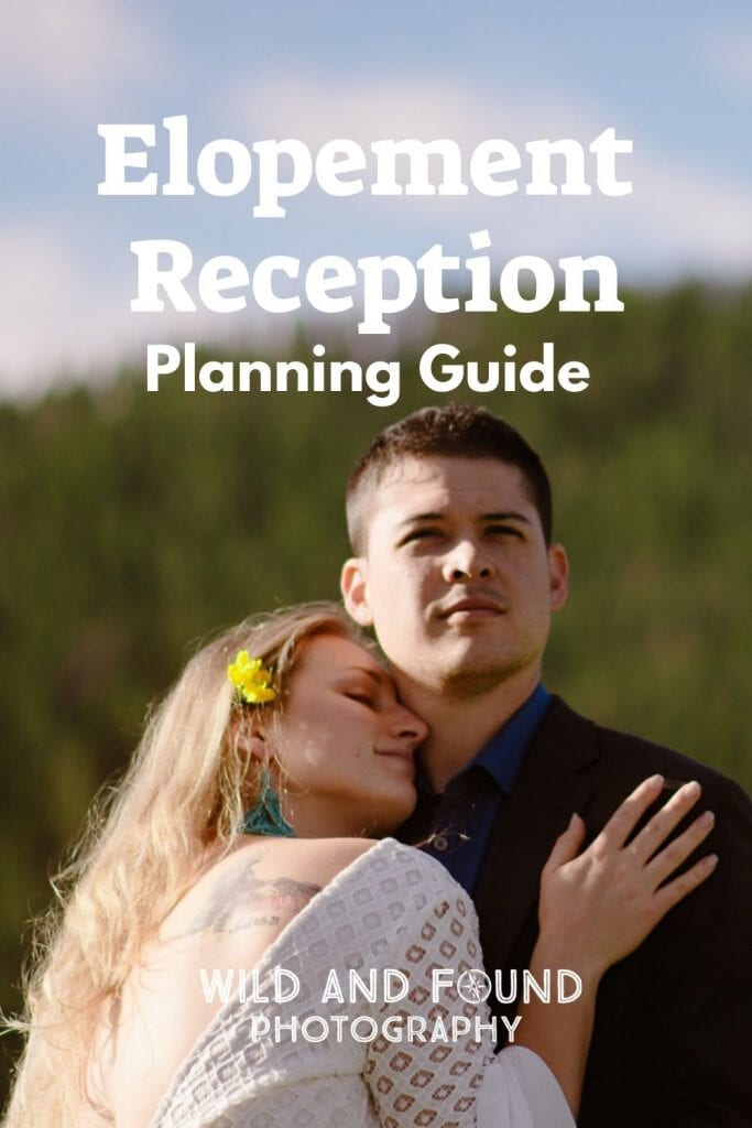 Elopement reception planning guide cover