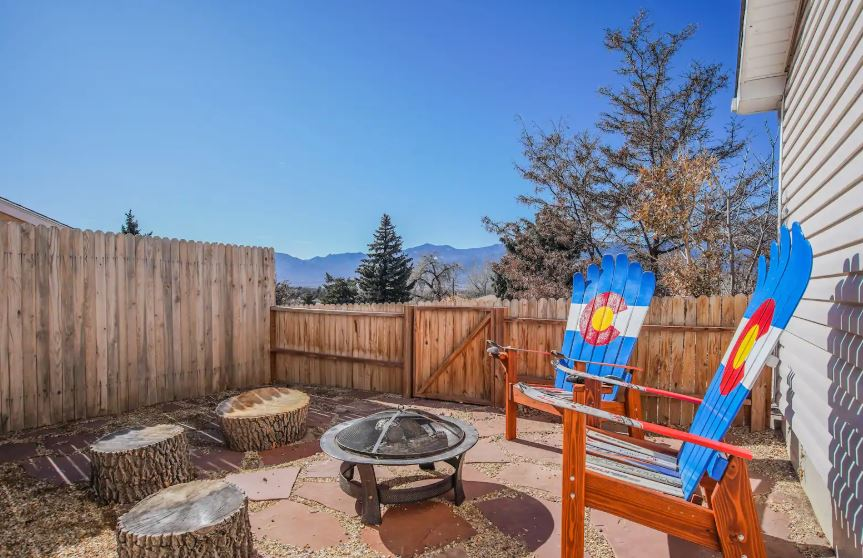 Colorado Springs modern Airbnb near Garden of the Gods