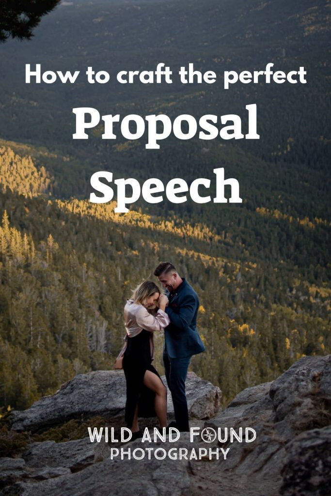 How to craft the perfect proposal speech guide cover