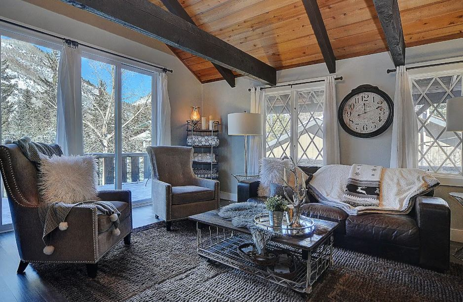 Luxury Airbnb in the mountains of Vail Colorado