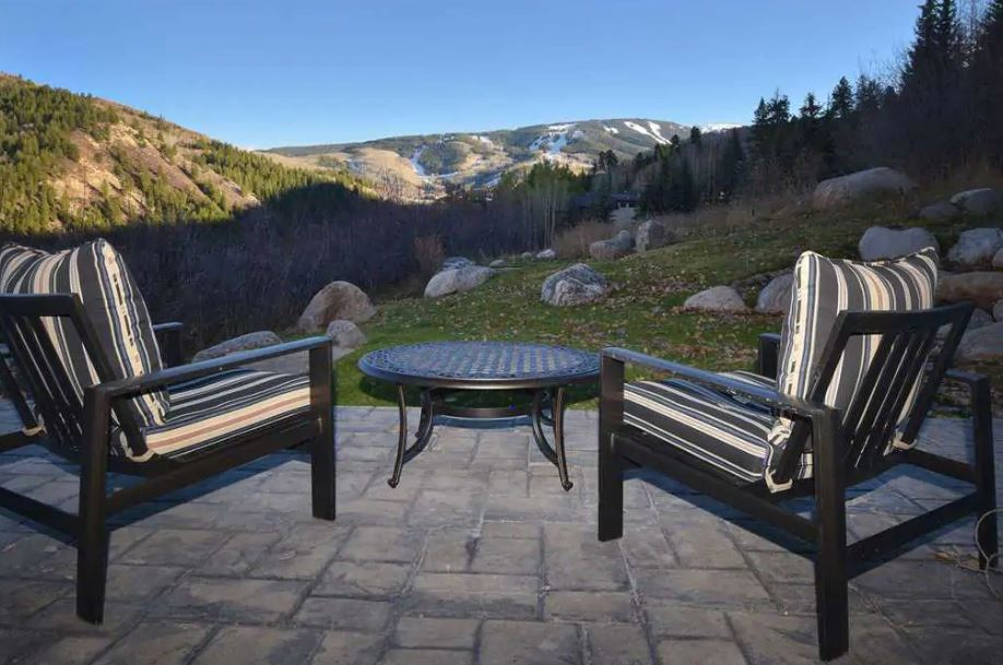 Vail Airbnb with a great view from the deck