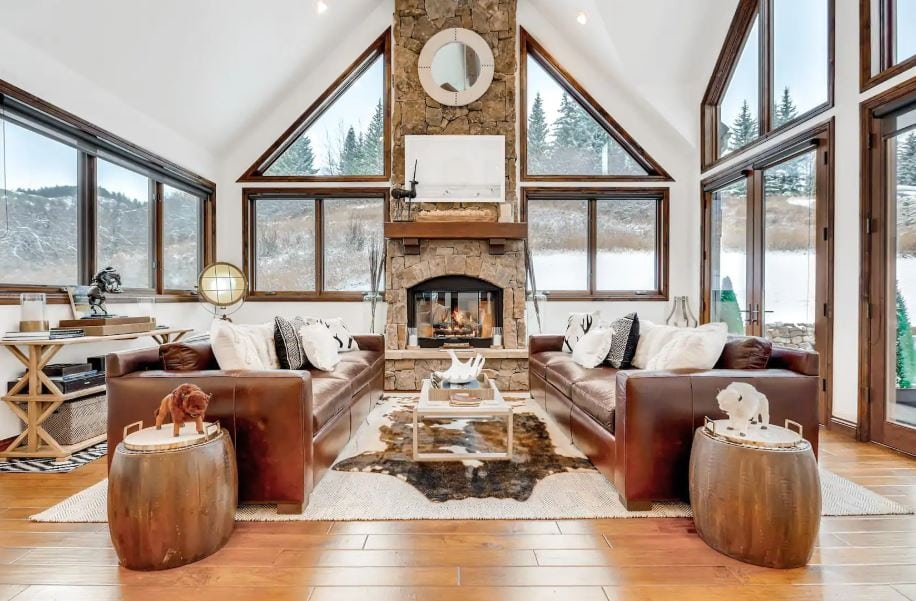Large and modern rustic Airbnb near Vail Colorado