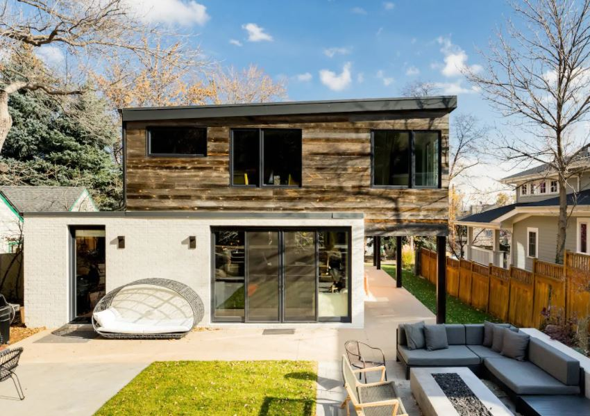 Modern home in Boulder Colorado for rent on Airbnb