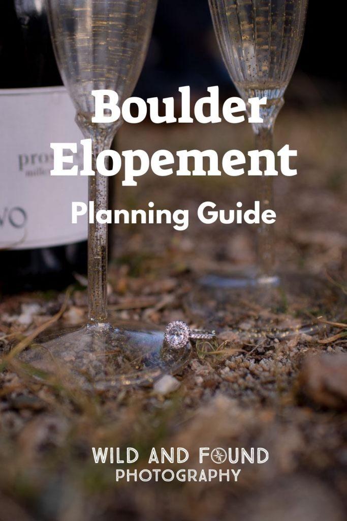 Boulder elopement guide cover