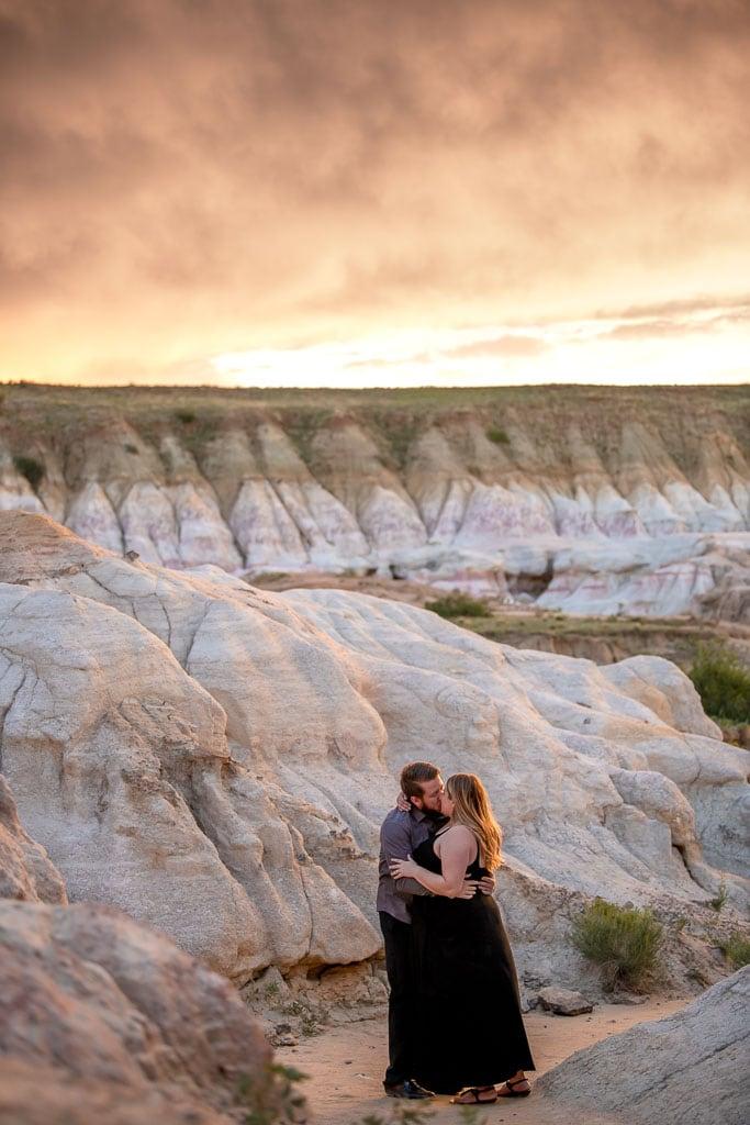 Colorado Paint Mines elopement