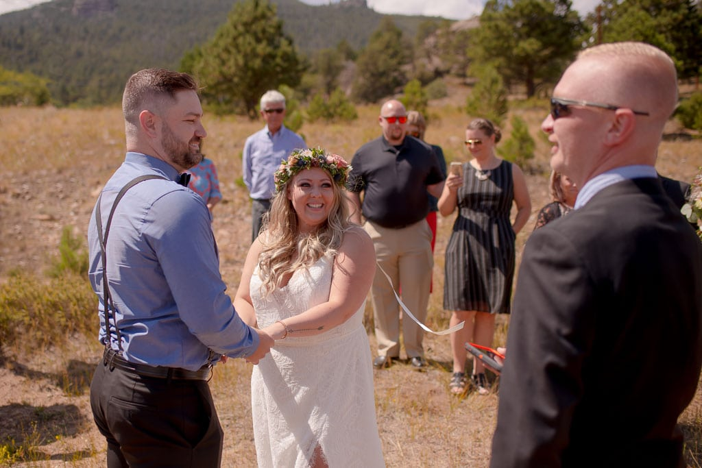 Colorado elopement with friends and family