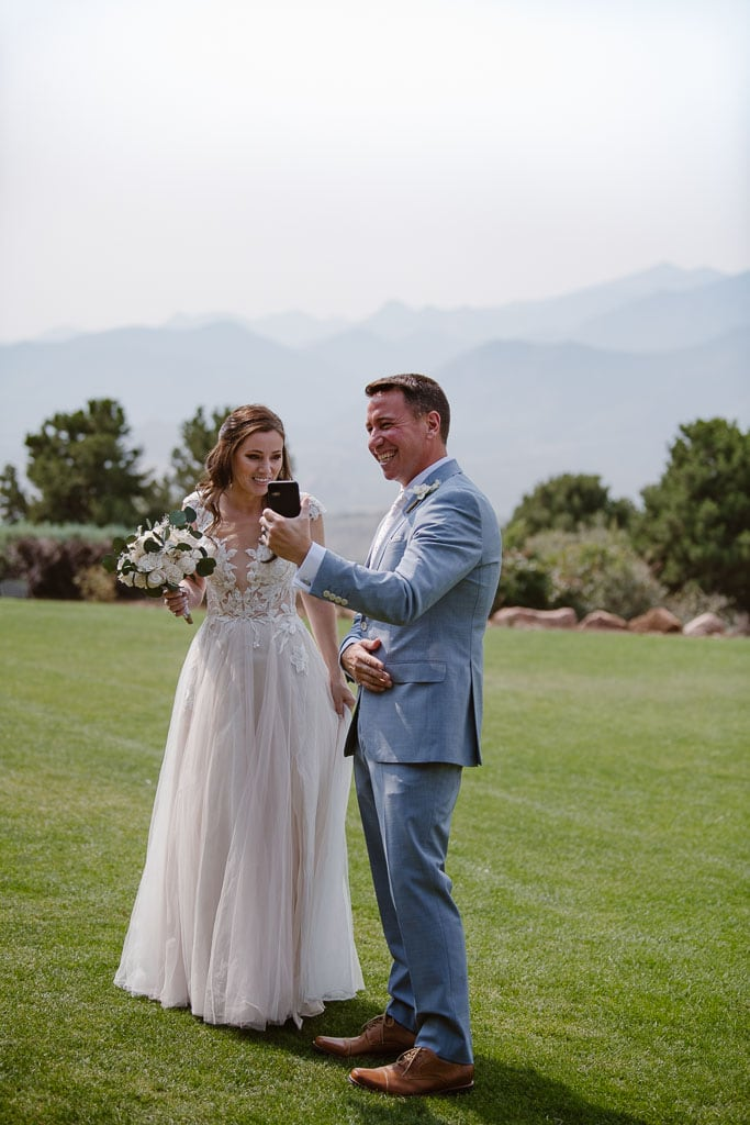 Colorado elopement at Garden of the Gods Resort