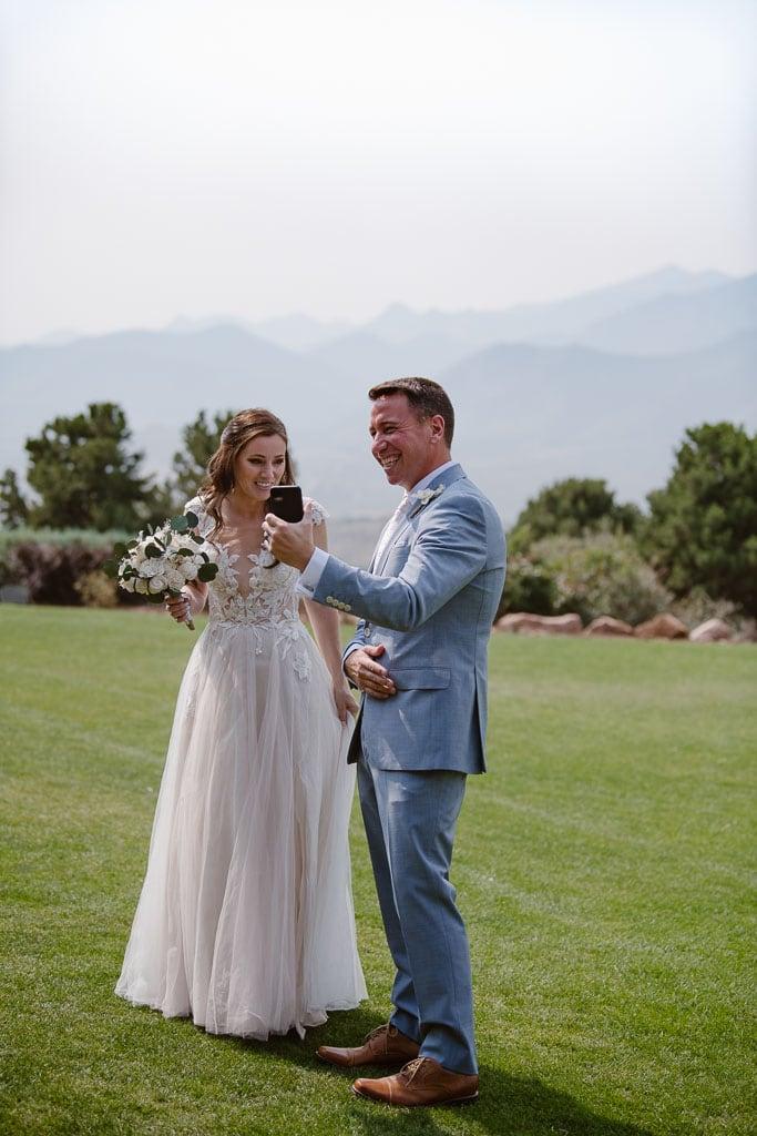 Colorado elopement at Garden of the Gods Resort