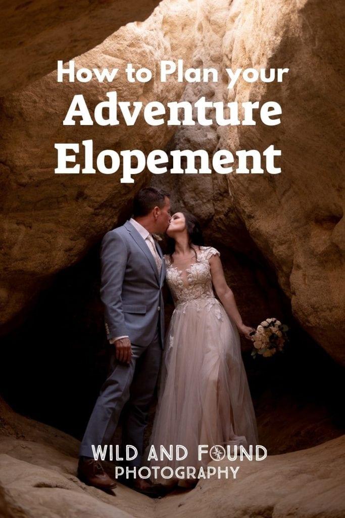 Adventure elopement cover photo