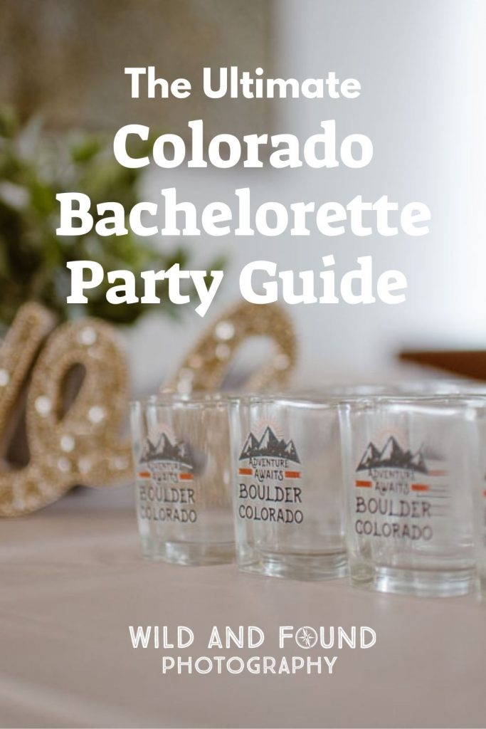 Colorado mountain bachelorette party guide cover photo
