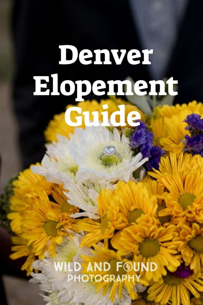 Denver elopement guide cover photo