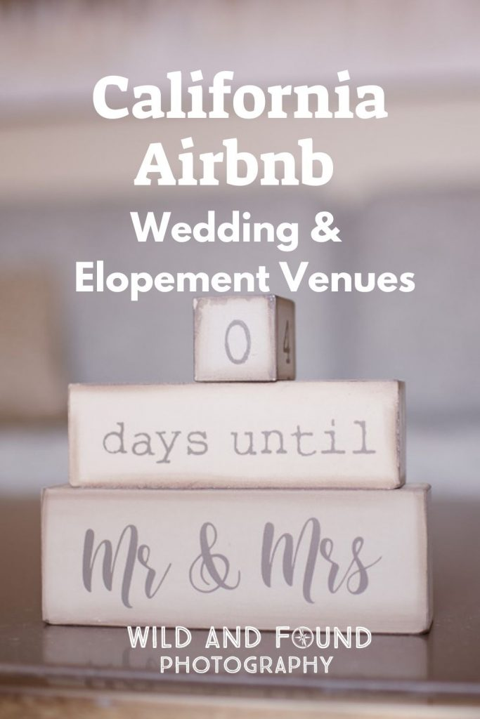 California Airbnb Wedding and Elopement Venues cover image