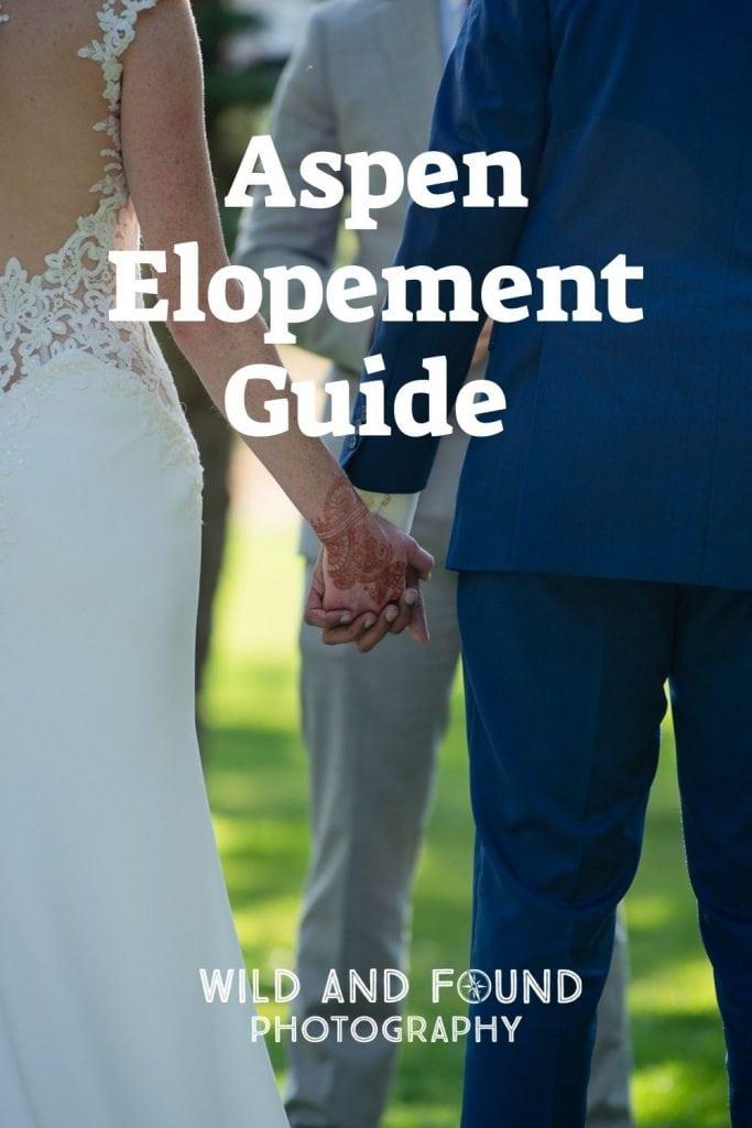 Aspen elopement guide cover photo