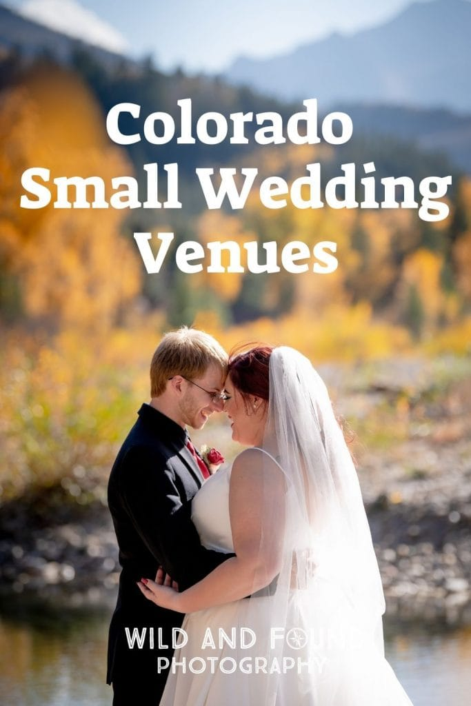 Colorado small wedding venues cover photo