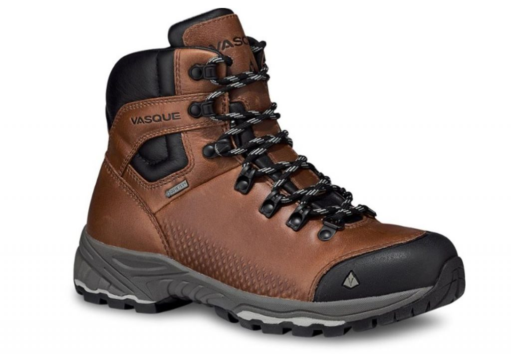 Vasque St. Elias brown and black leather hiking boot